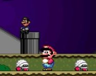 Super Mario Flash Halloween online Mario j�t�k
